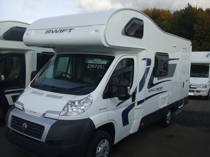Motorhome Swift Escape 624 Moran Motorhomes Of Ludlow